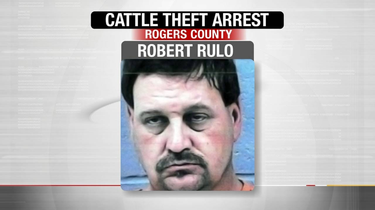 Man Accused Of Stealing Cattle From Rogers County Ranch Arrested