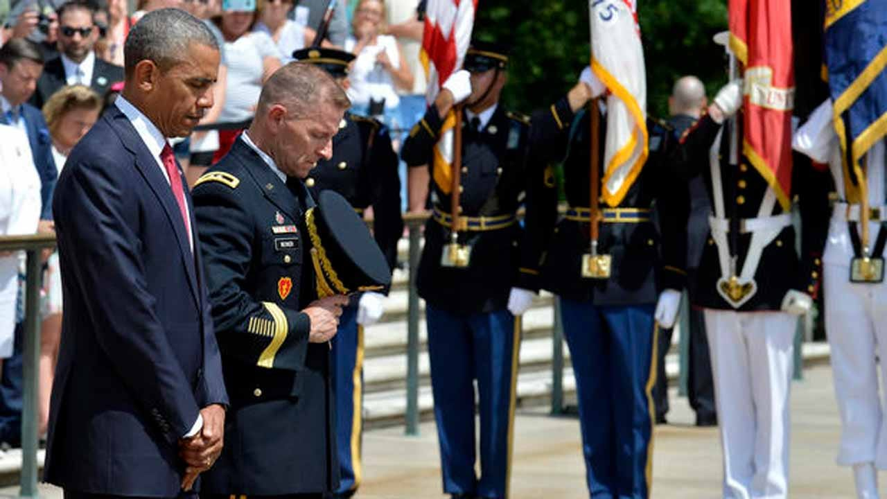 Obama On Memorial Day: We Need To Be There For Veterans And Their Families