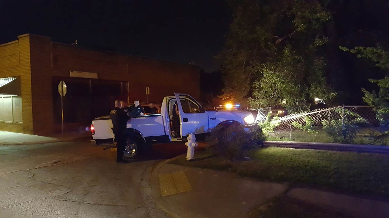 Tulsa Man Driving Stolen Pickup, Arrested After Chase
