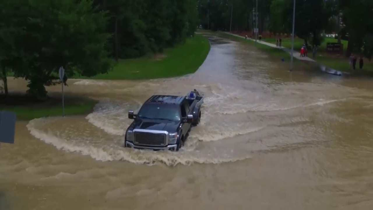 Flooding Forces Evacuations In Southeast Texas