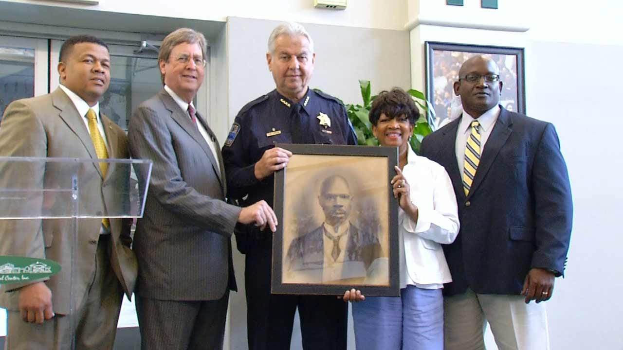 Police Chief Donates Rare Picture Of Tulsa's First African-American Officer