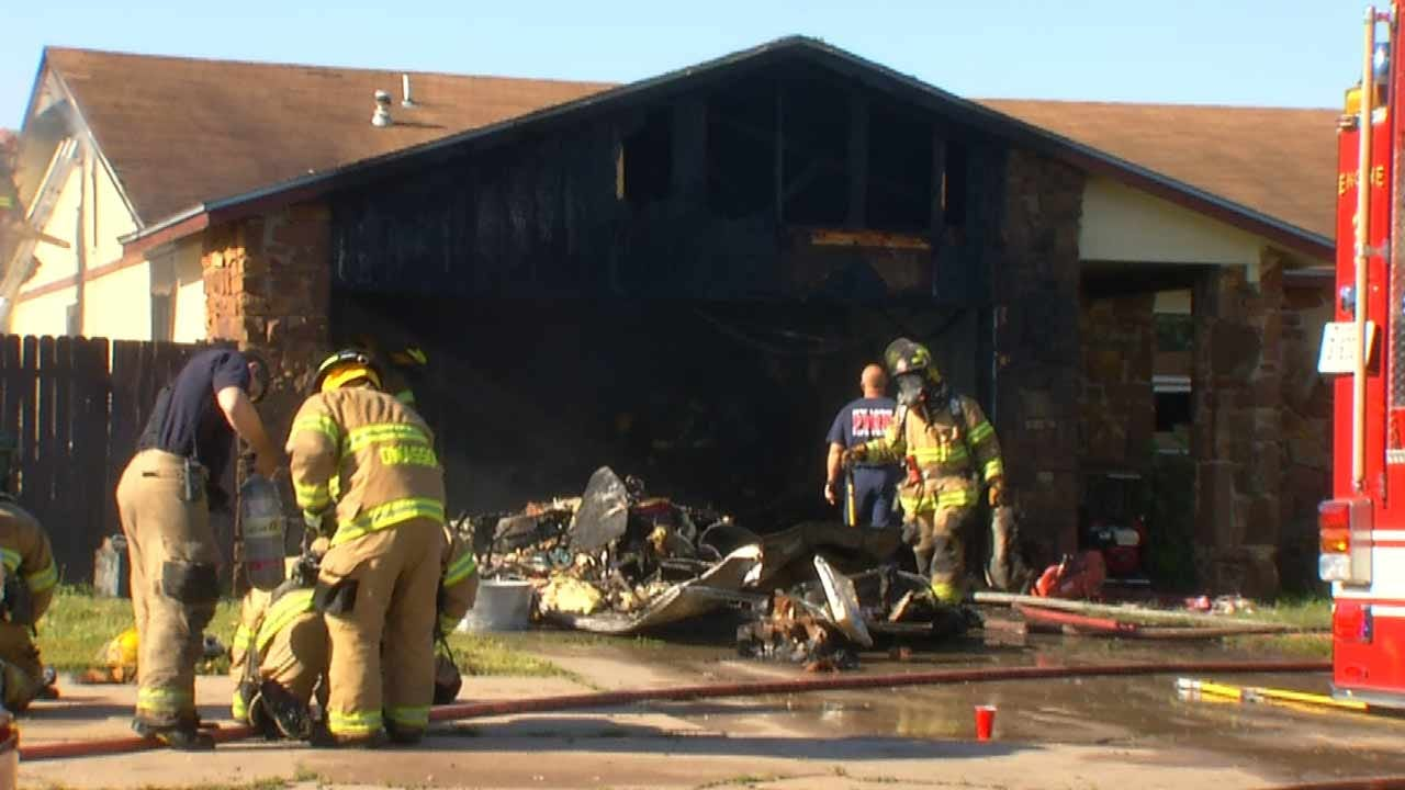 Fire Forces Owasso Family Out Of Their Home