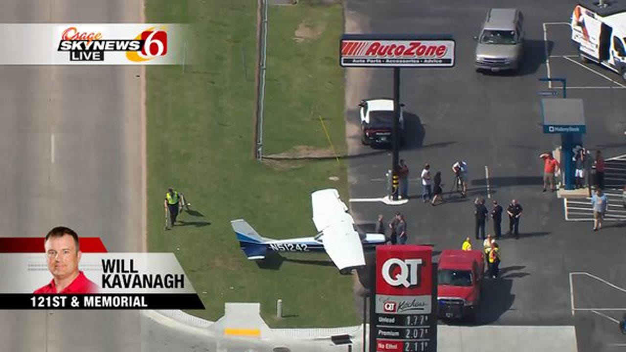 NTSB: Pilot Had To Dodge Car To Make Emergency Landing On Bixby Street