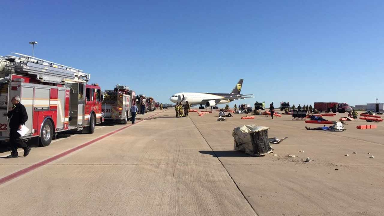 Tulsa Airport Launches Full-Scale Disaster Drill