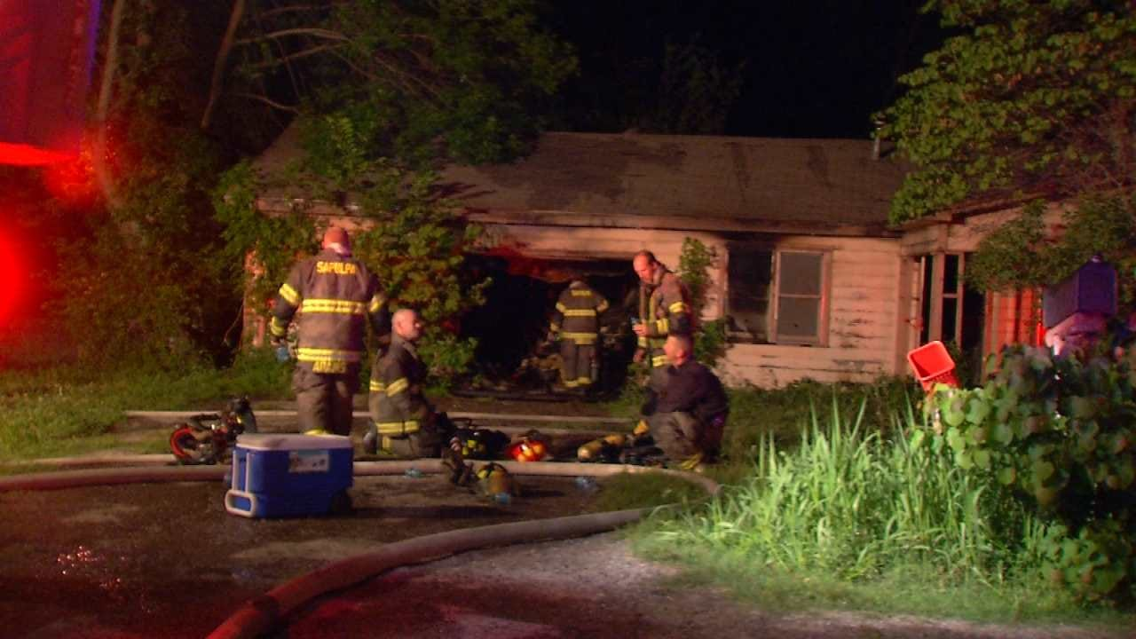 Two Sapulpa Homes Damaged By Fire