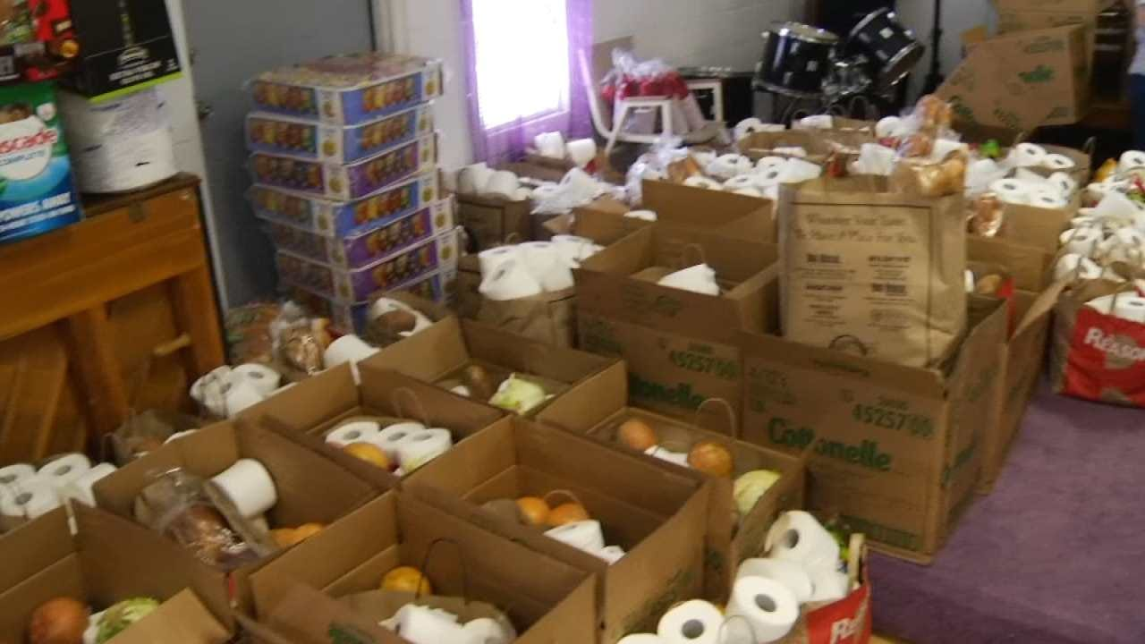 Churches Hold Block Party To Support North Tulsa Tornado Victims