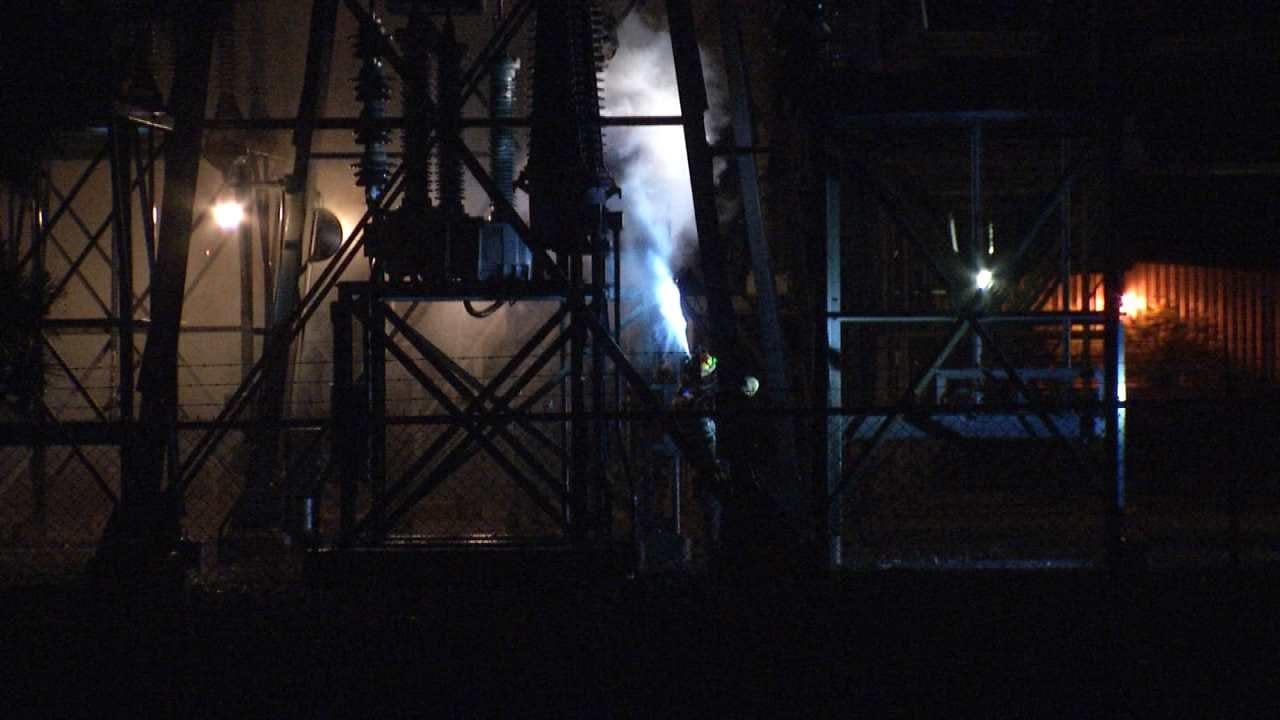 Oologah Transformer Fire Knocks Out Power To Tulsa Neighborhood