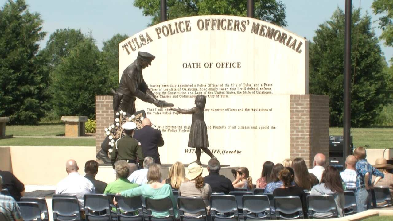 Tulsa Police Honor Fellow Officers Killed In The Line Of Duty