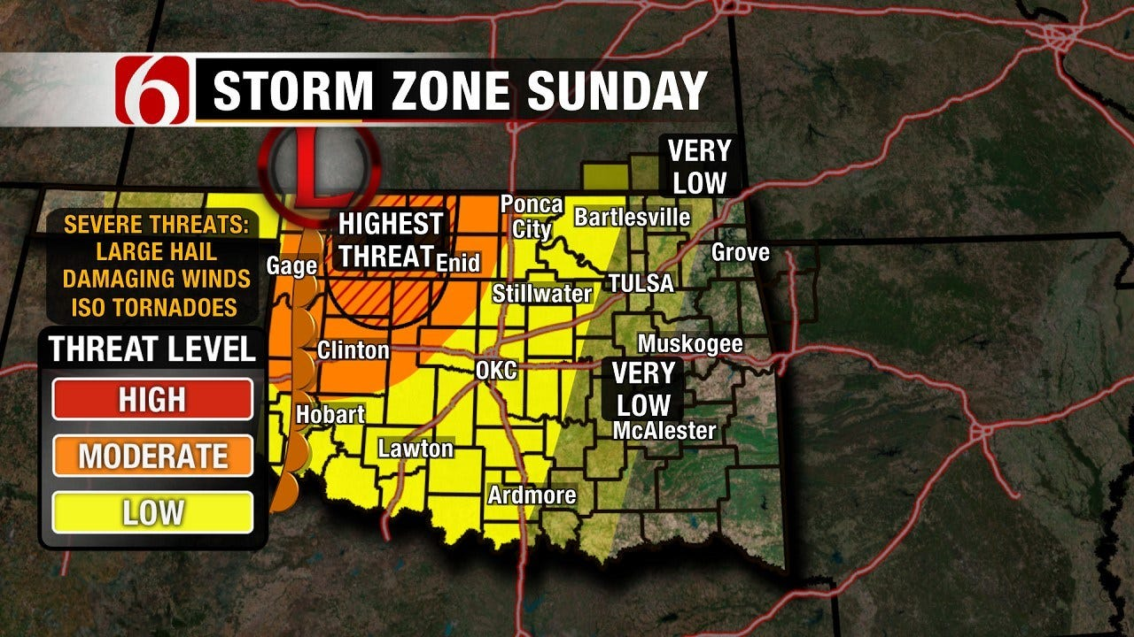 Stephen Nehrenz Weather Blog: Chance Of Storms In Forecast