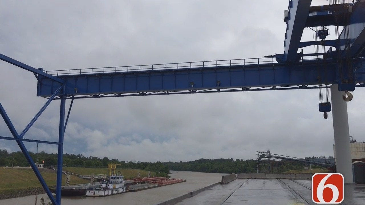 $12 Million Dock Launches New Era At Port Of Catoosa