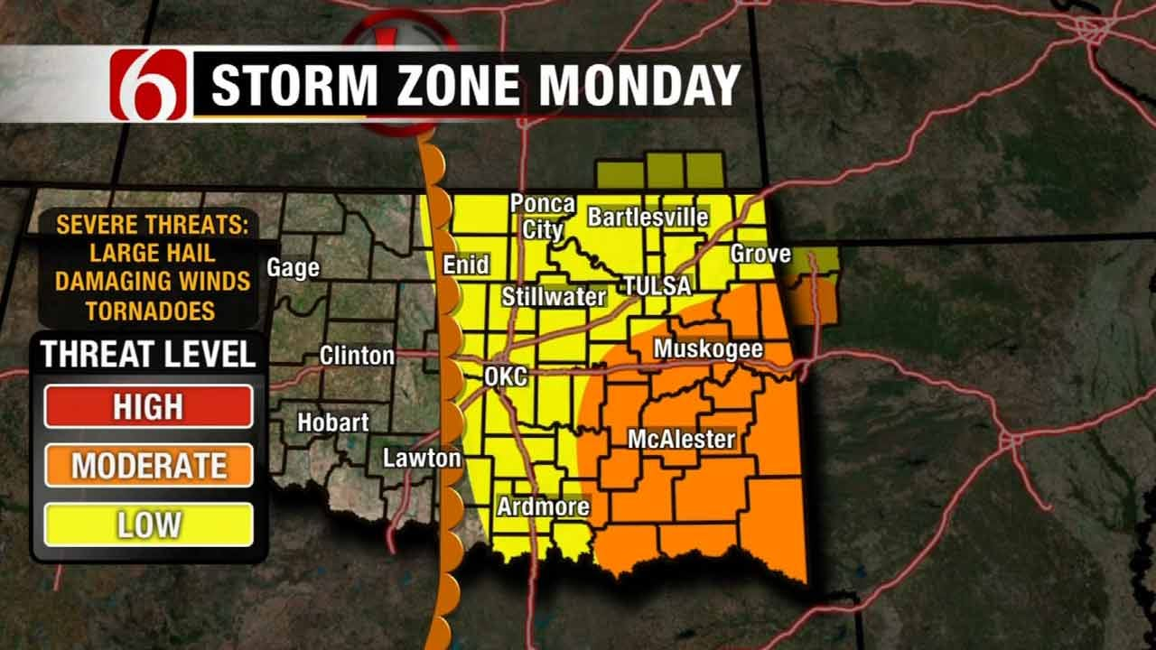 Alan Crone: Severe Storms Again Today