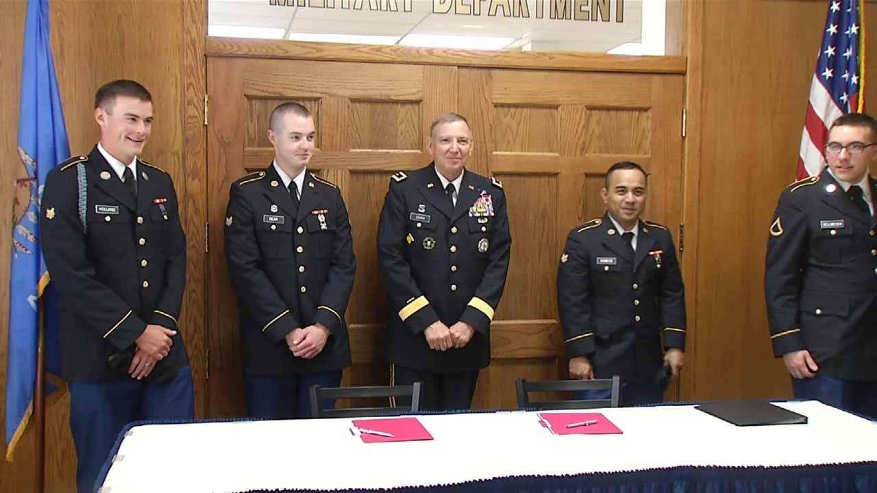 Alumni Donations Help RSU Keep National Guard Program