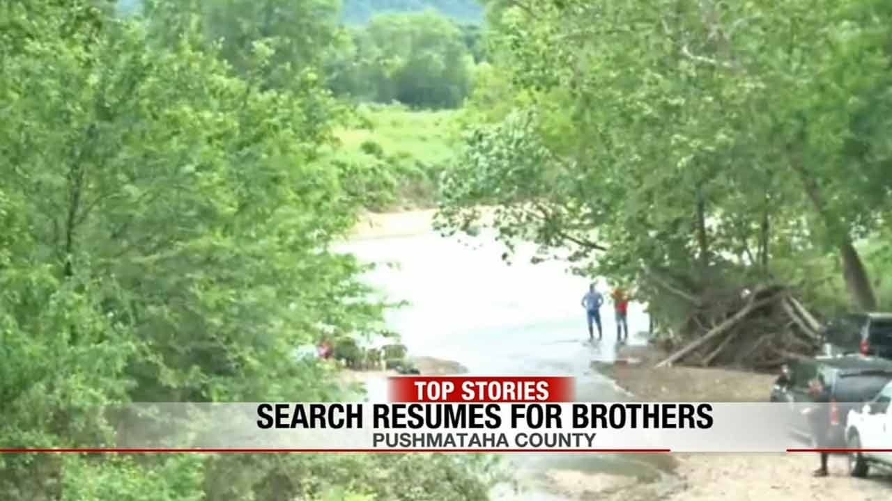Dive Teams Search For Brothers Missing On Kiamichi River