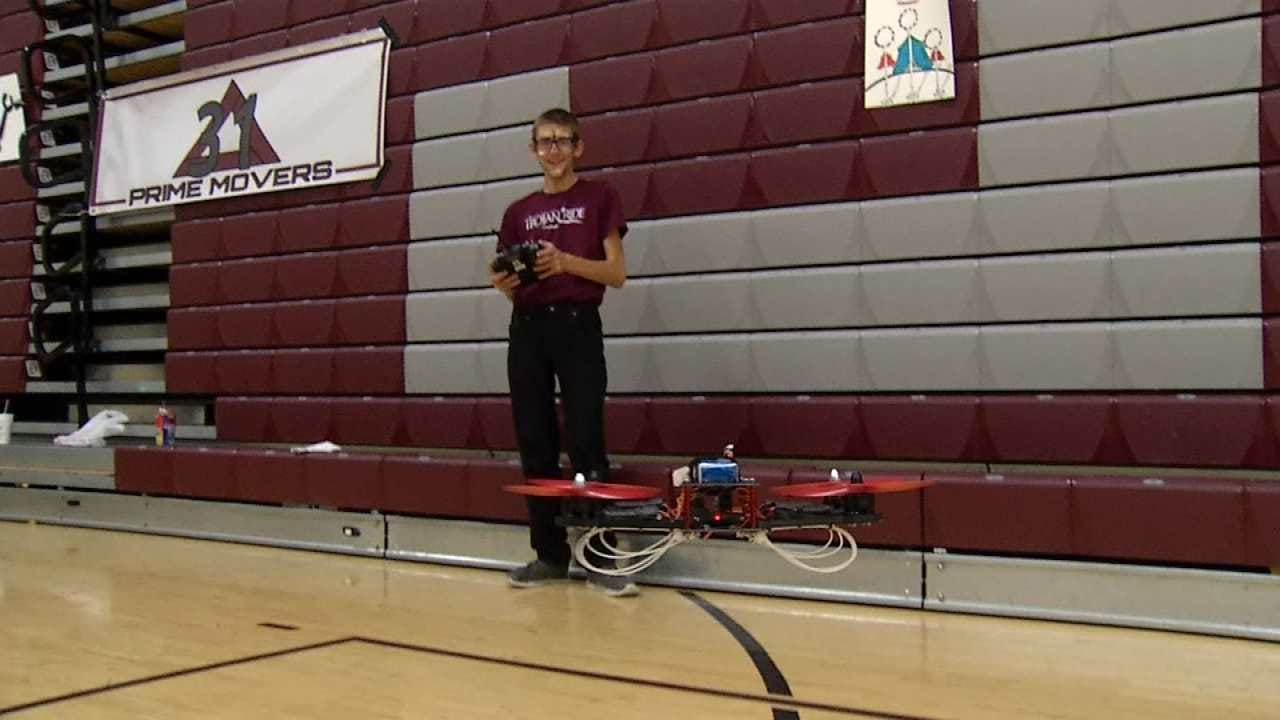 Drones Fly High At Jenks High School