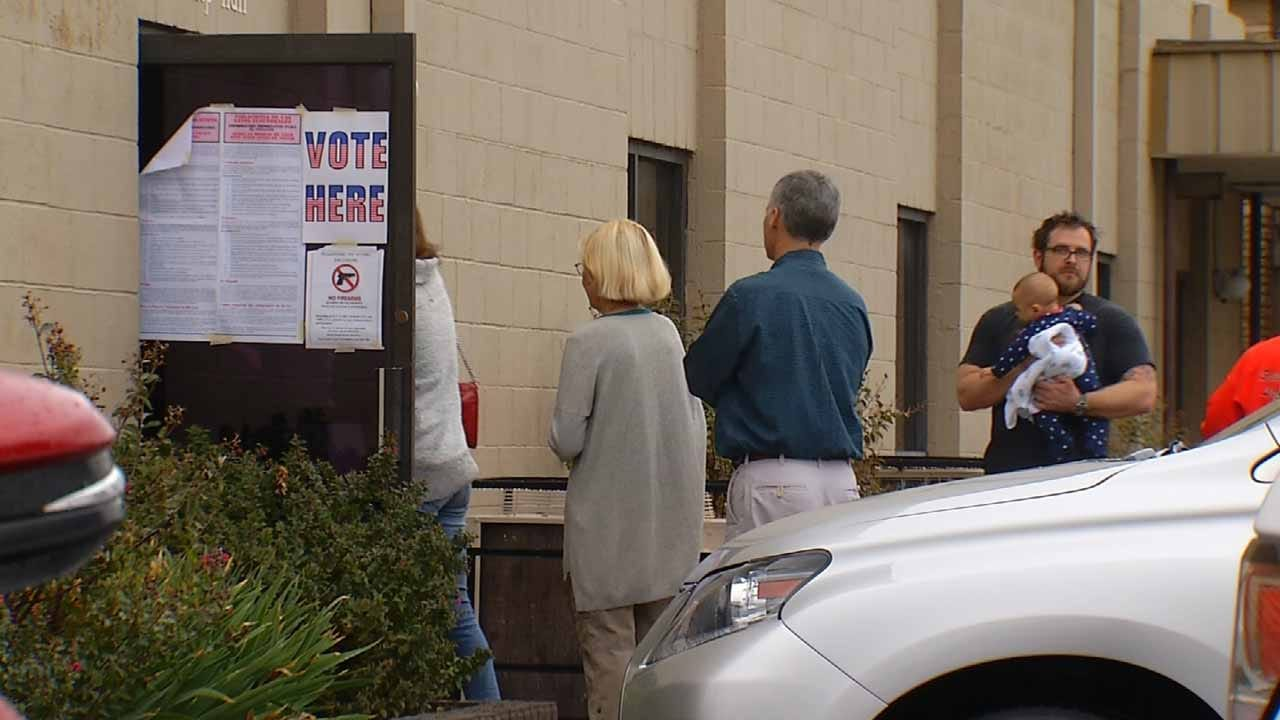 Election Board: Votes Safe Despite Reports Of Machine Malfunctions