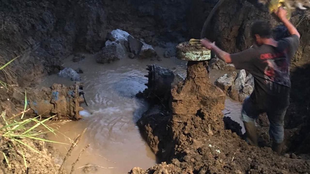 Dewey Public Works Working To Repair Water Main Break