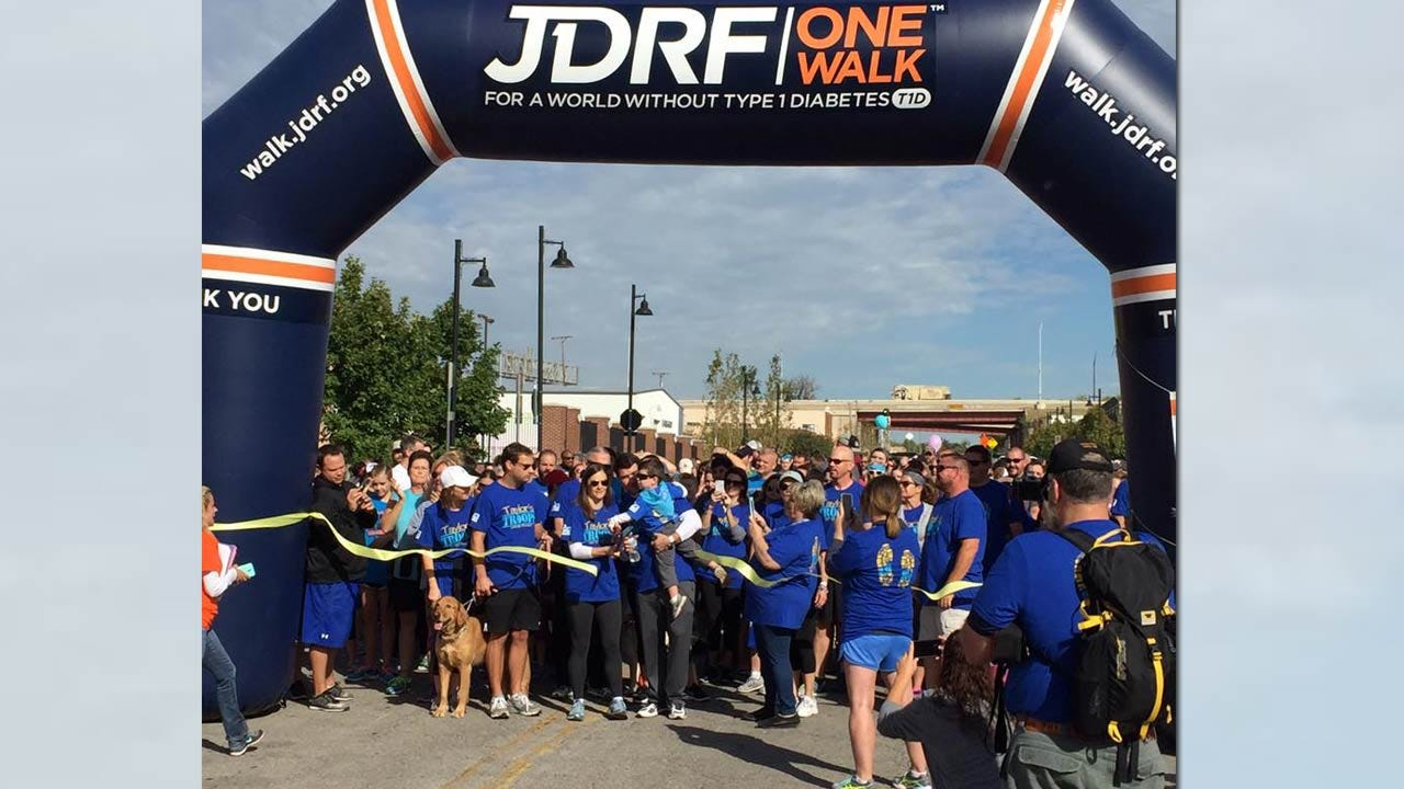 JDRF One Walk Raises Type 1 Diabetes Awareness In Tulsa