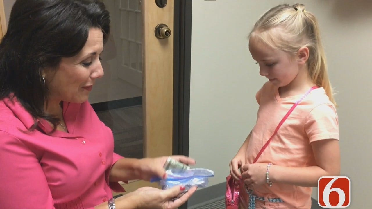 LeAnne Taylor Thanks Sapulpa Second-Grader For Breast Cancer Fundraiser