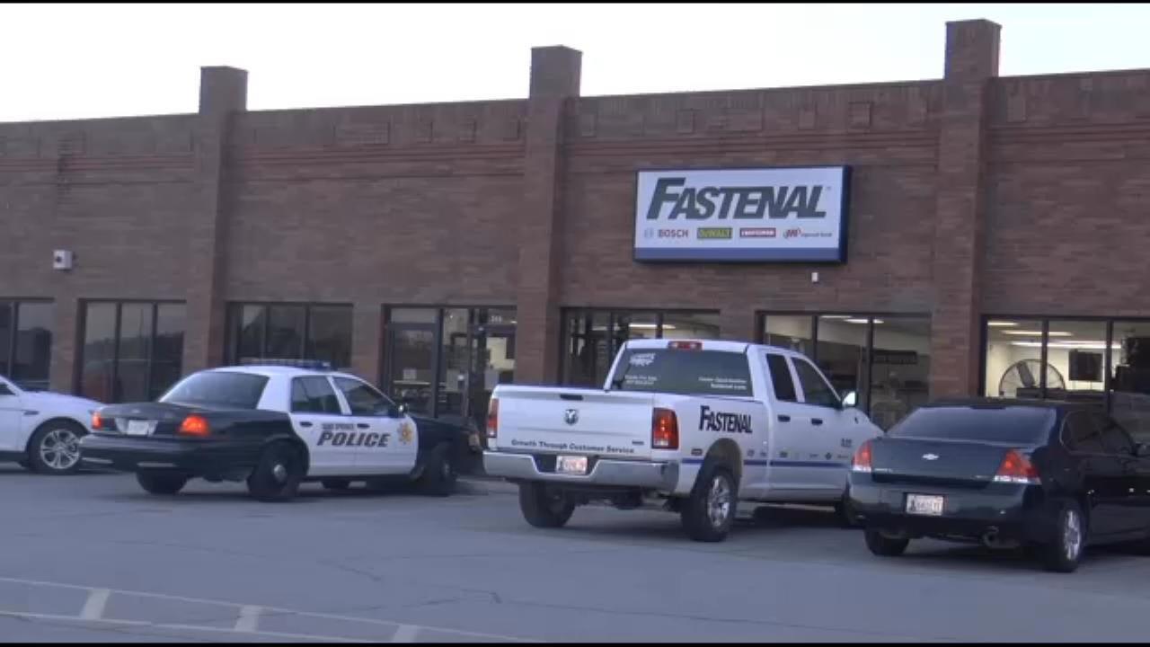 Sand Springs Police Investigate Fastenal Burglary