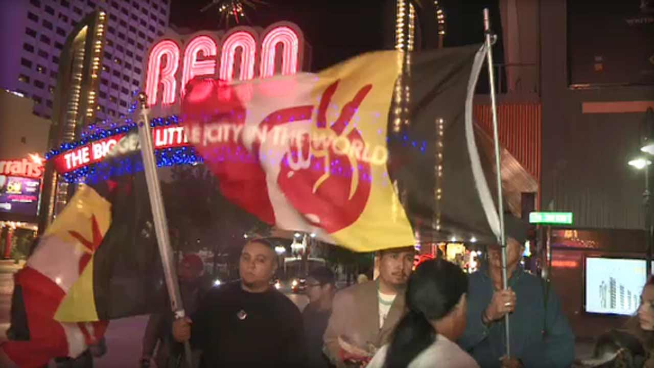 Truck Hits Native American Crowd During Columbus Day Protest In Nevada; No Arrest Yet