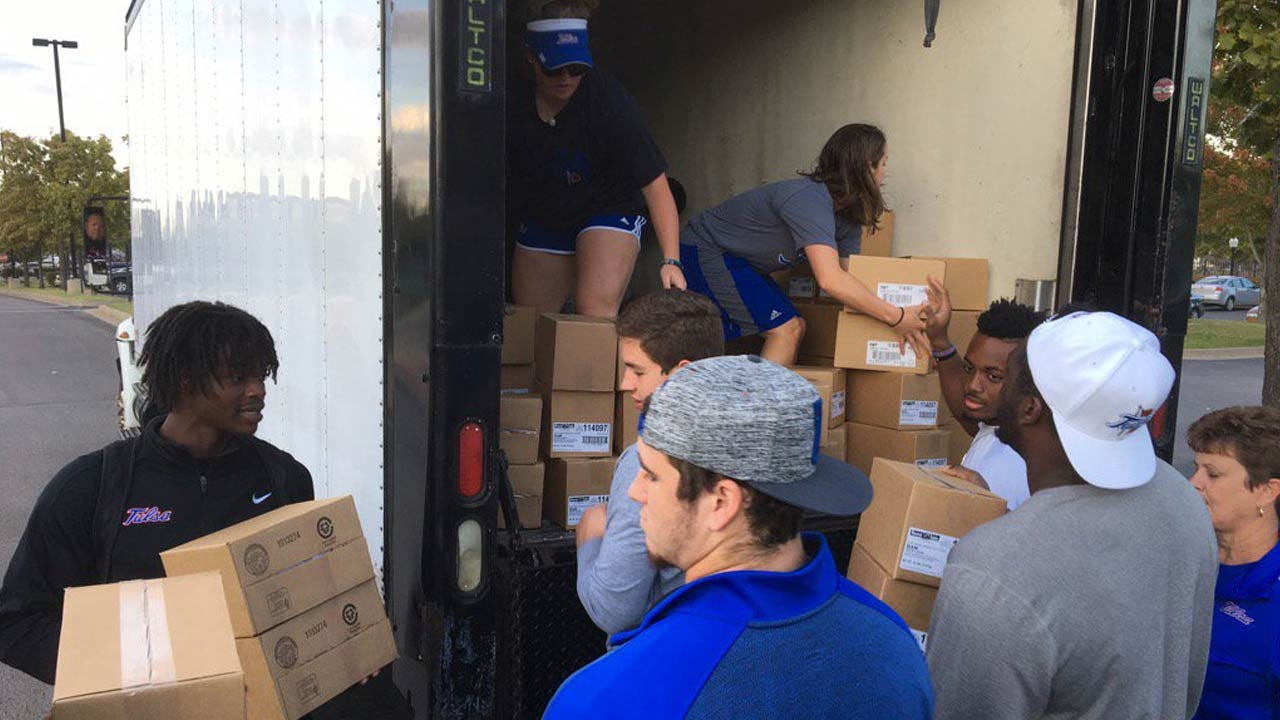 TU Athletics Team Up With Lift Up America, Tyson Foods To Fight Hunger In Oklahoma