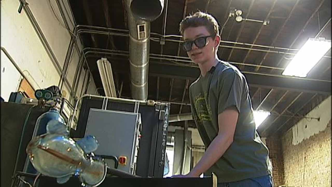 Fundraiser Benefiting Tulsa Glassblowing School Happening Downtown