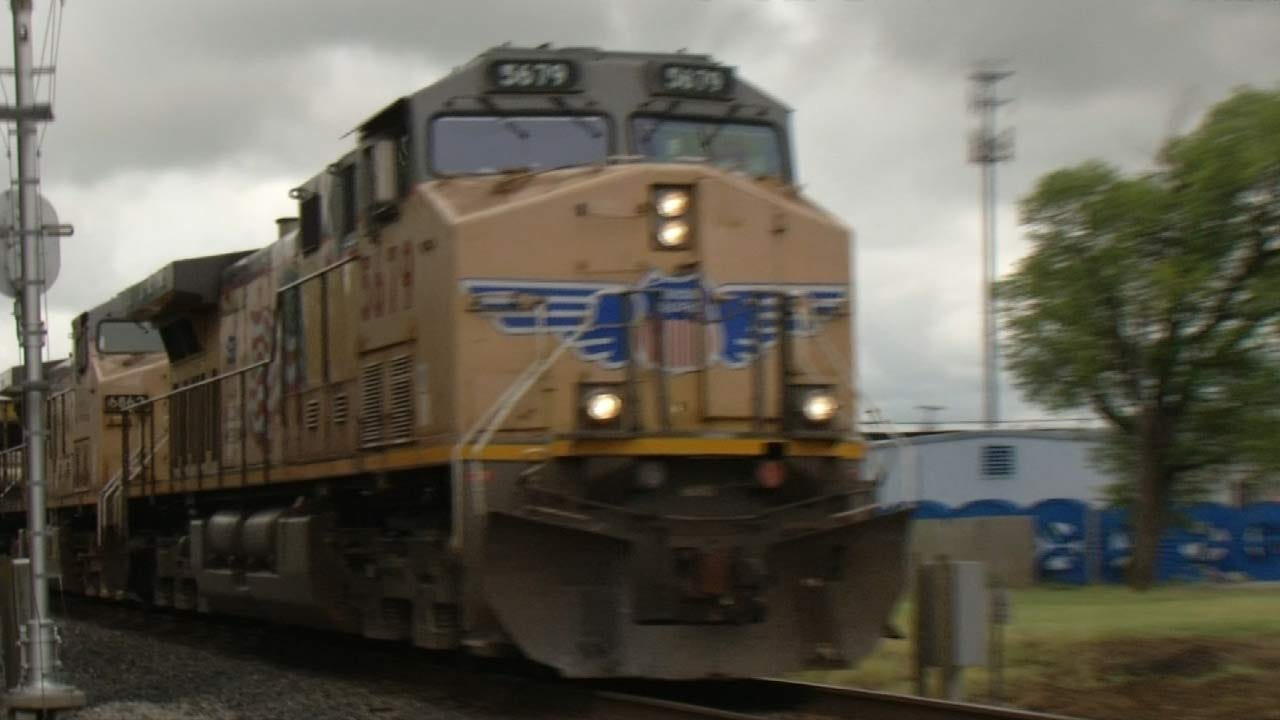 Grieving Claremore Family Pleads For Way Around Trains After Baby's Death