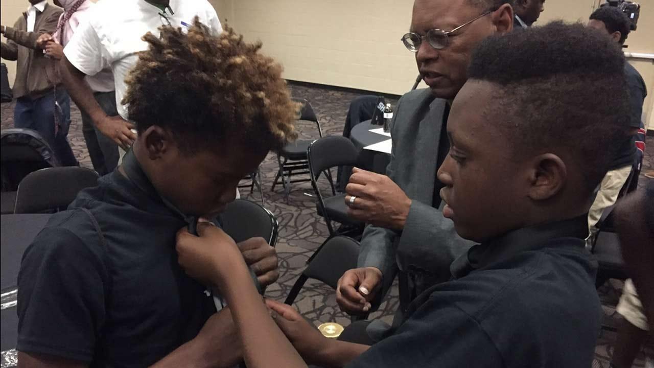 Tulsa Boys Learn Manhood Lessons At Mentoring Summit