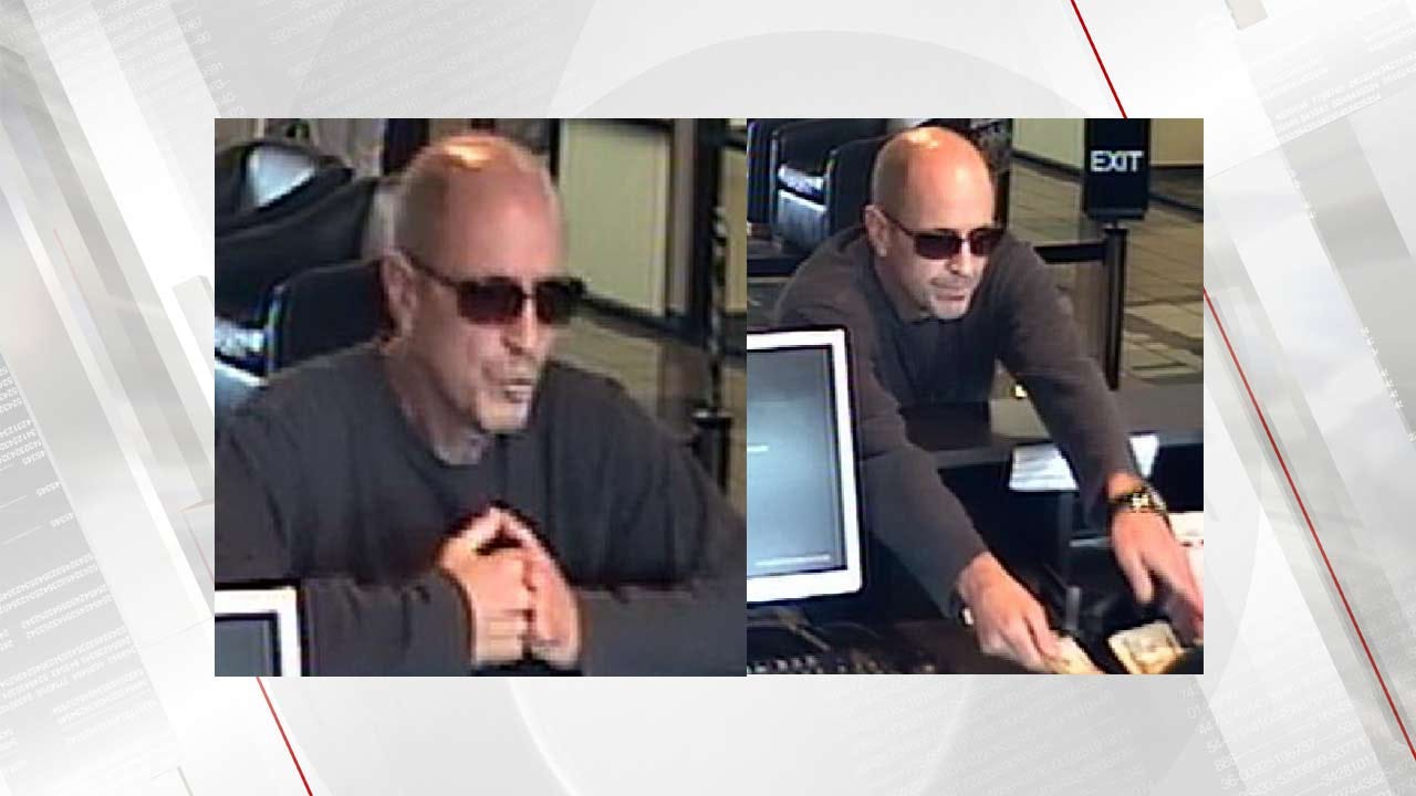 Broken Arrow Police Search For Bank Robber