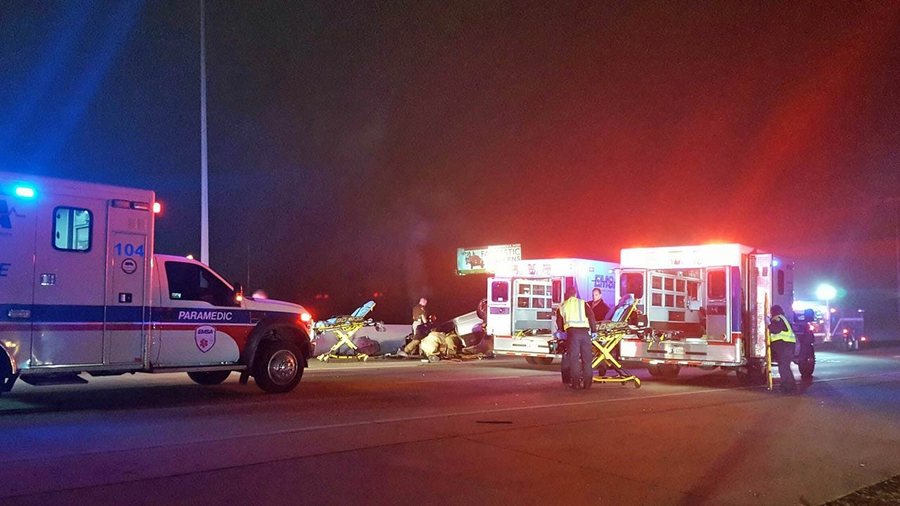OHP: Two Teens Die In Chase On Tulsa Highway