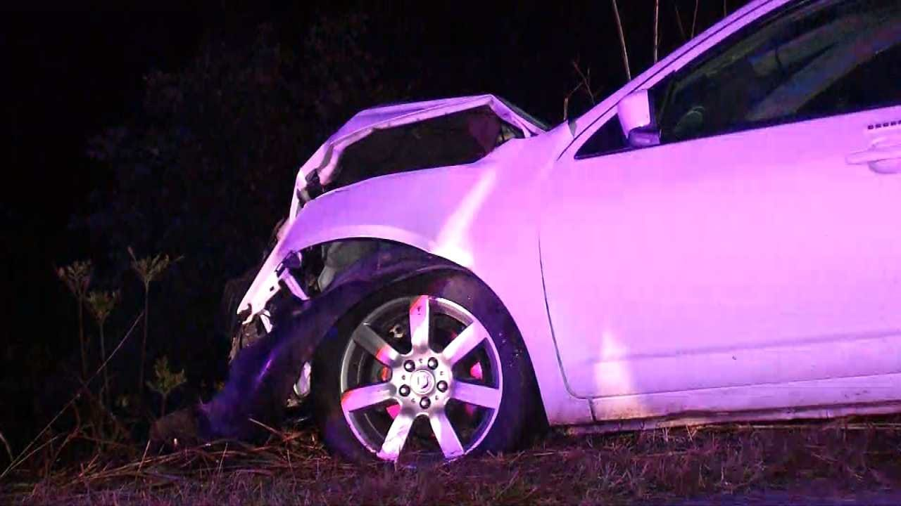 Woman Rescued 17 Hours After Osage County Crash