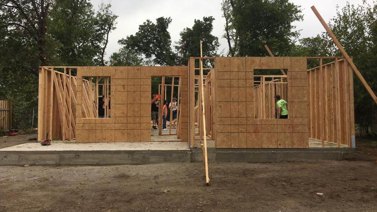 Habitat For Humanity Working On Two Homes For Tulsa Families