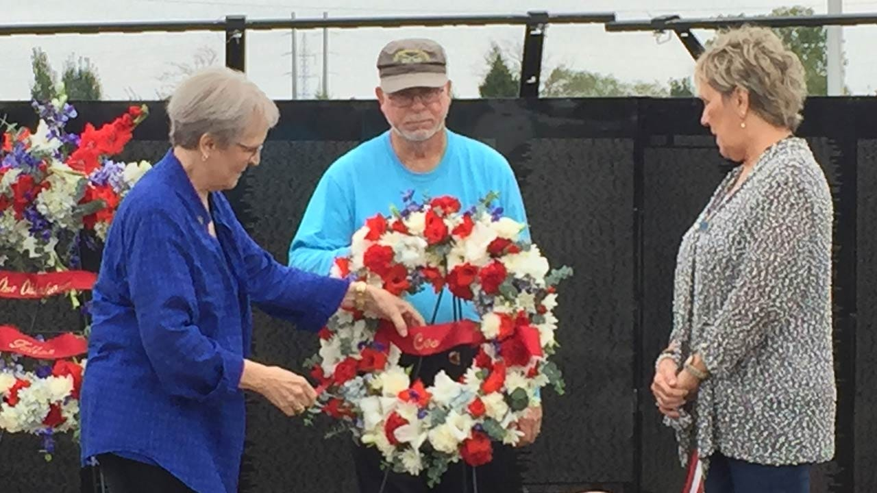 Oklahomans Killed In Vietnam Honored At The 'Wall That Heals' In Owasso