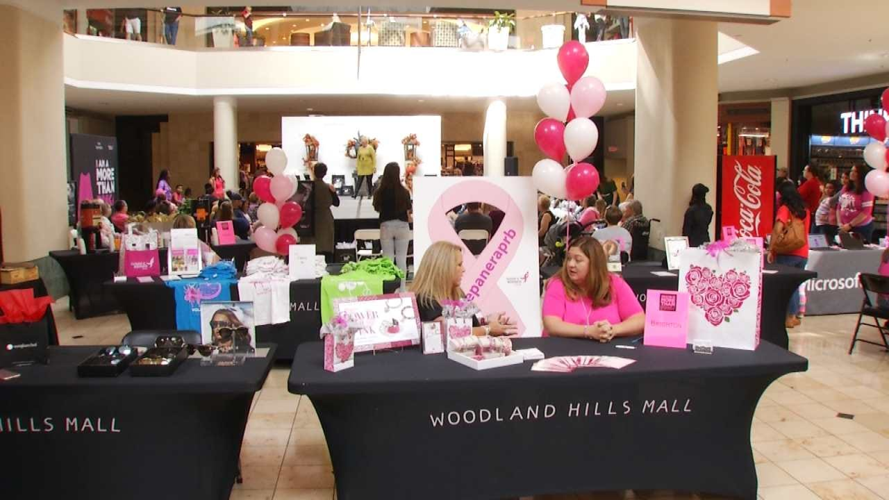 Woodland Hills Mall Steps Up To Help In Fight Against Breast Cancer