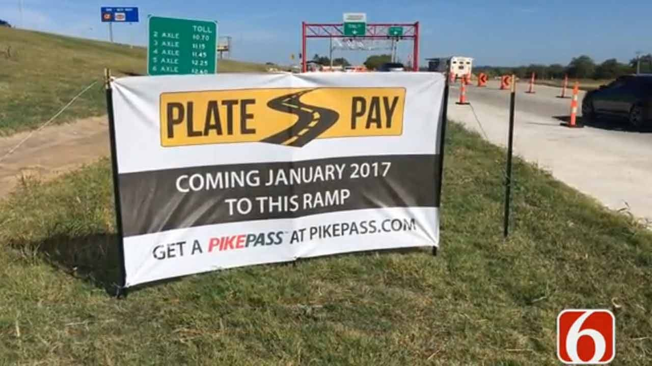 Oklahoma Turnpike Authority Bringing 'Plate Pay' To Creek Turnpike
