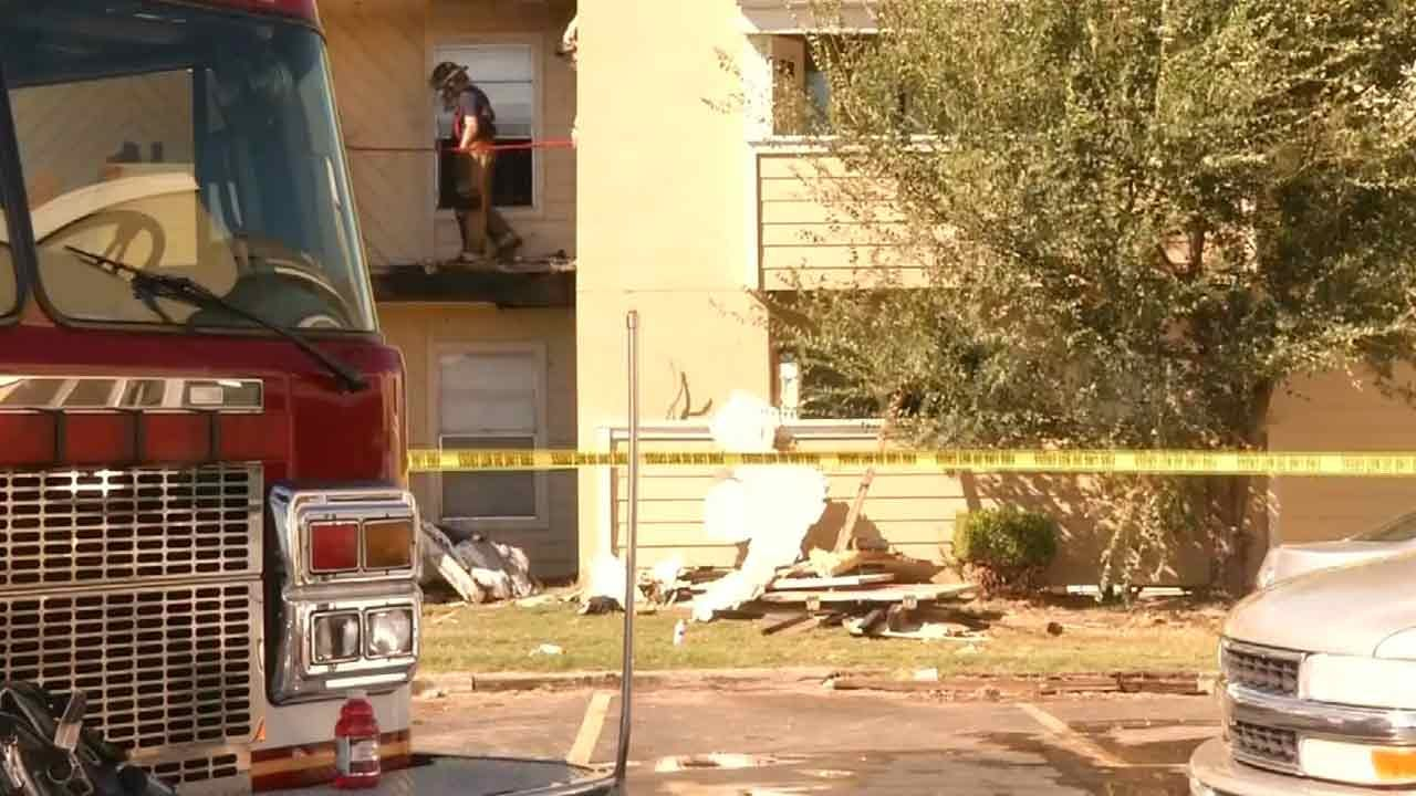 Tulsa Apartment Fire Displaces Six People