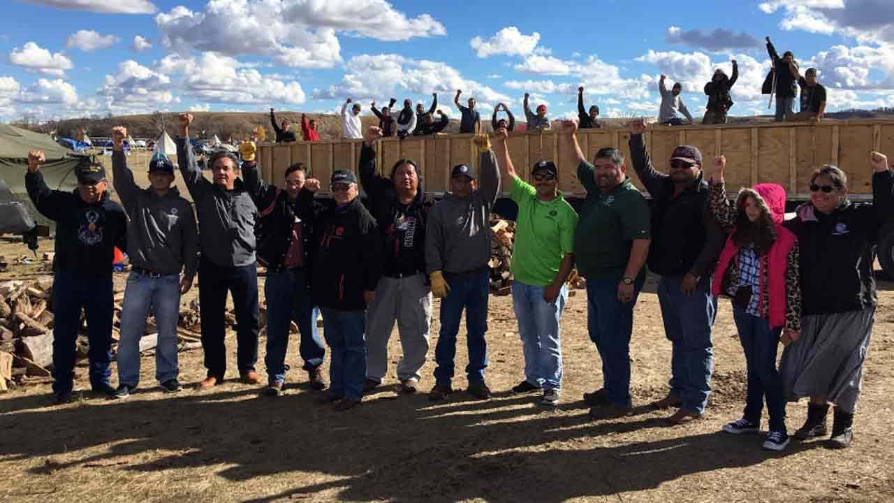 Cherokee Nation Members Make Second Trip To North Dakota