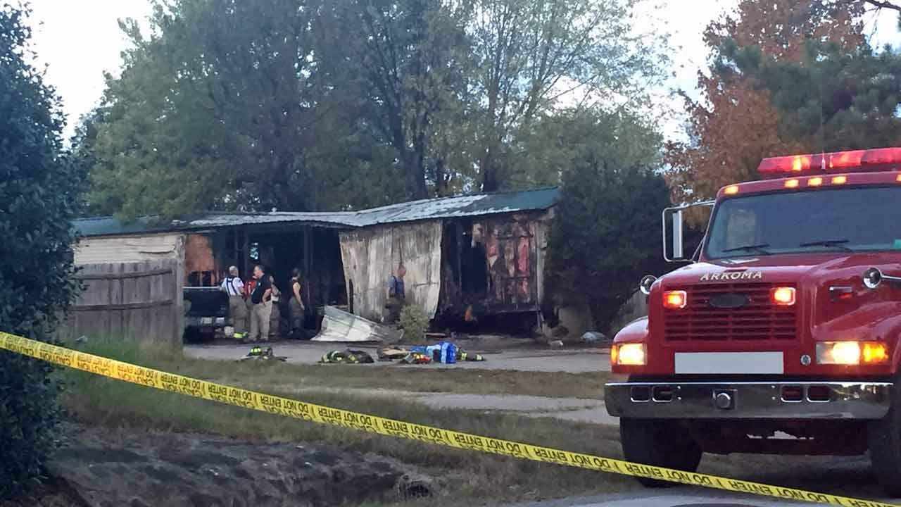 Three Children Killed In LeFlore County Fire