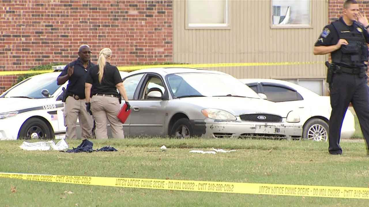 TPD: One Person Dead After Double Shooting At Tulsa Apartment Complex