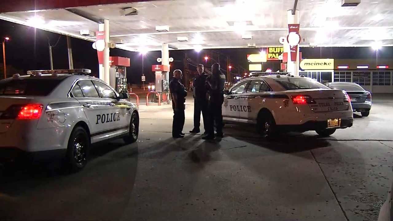 Tulsa Shooting Initially Reported As Car Crash