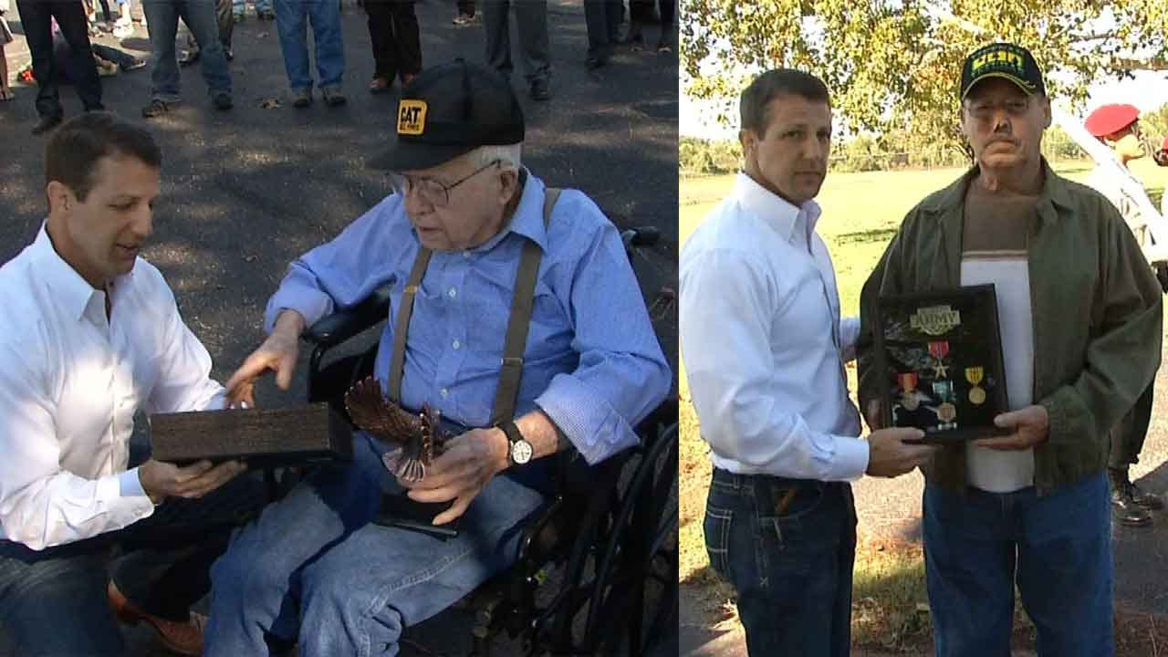 Oklahoma Veterans Honored With Military Medals
