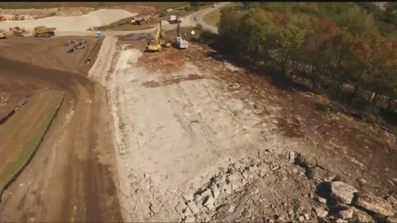 Midwest Drone Productions Documents Blast For Construction Project