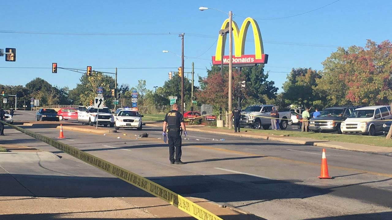 Tulsa Witness' Cell Phone Video Captures Officer-Involved Shooting