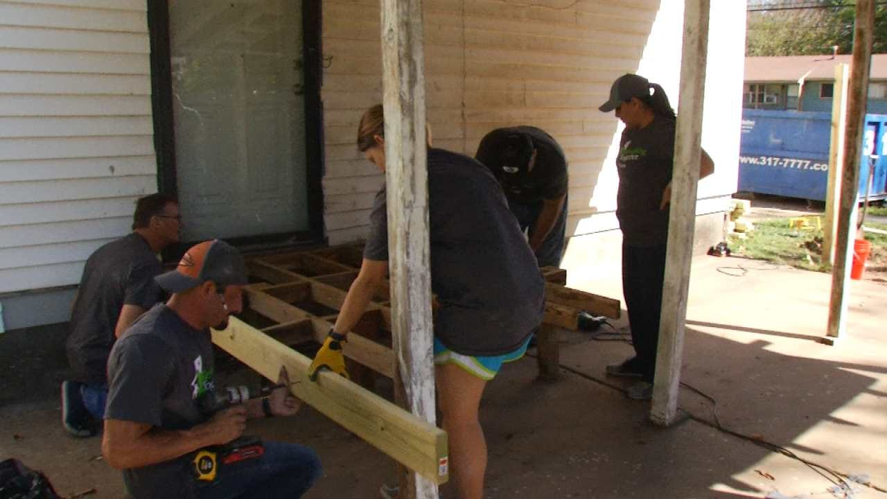 Volunteers Work To Rebuild Local Woman's Wheelchair, Make Home More Accessible