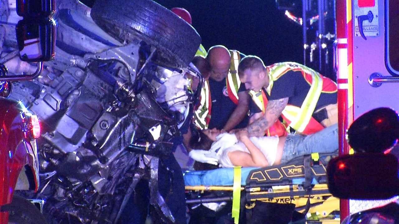 One Killed In Tulsa County Wrong-Way Crash
