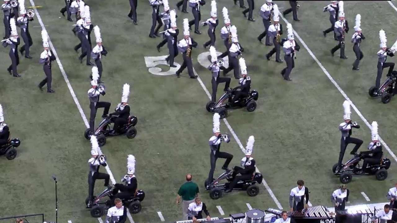 Pride Of Broken Arrow Marching Bands Wins Super Regional