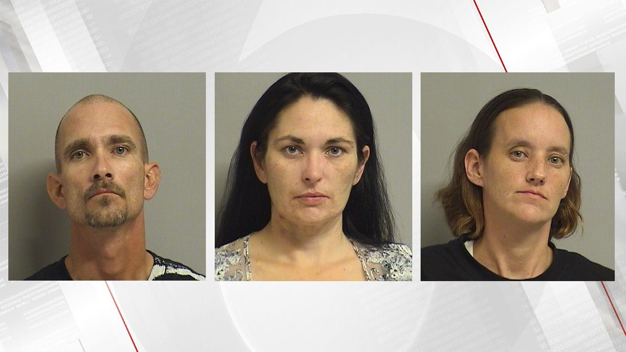 Tulsa Police Arrest Three People After Chase Ends In Downtown Crash