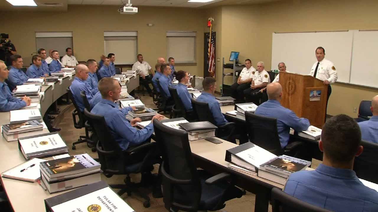 New Class Begins For 27 Tulsa Fire Cadets