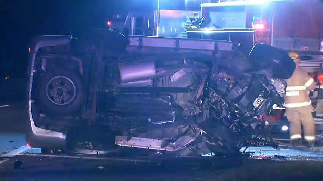 OHP Identifies Man Killed In Tulsa County Wrong-Way Crash