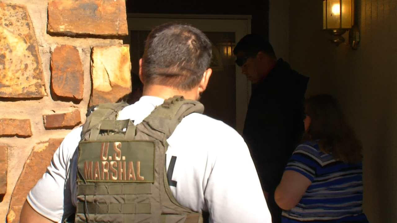 U.S. Marshals Make Home Visits To Keep Tabs On Sex Offenders